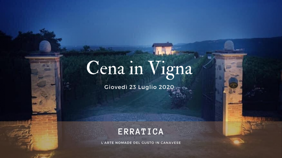 (Italiano) cena in vigna – vini e chef all'opera